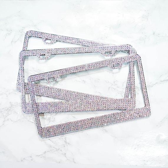 Iridescent Crystal License Plate Frame | Etsy