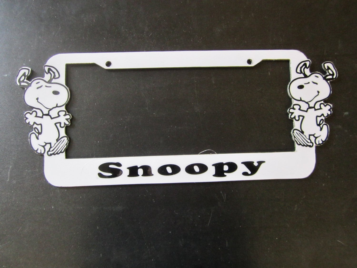 Snoopy License Plate Frame