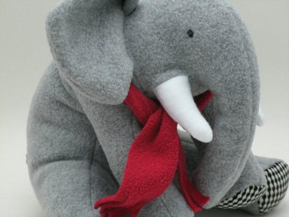 Fleece Soft Plush Baby Elephant Alabama Football Fan Gift Etsy