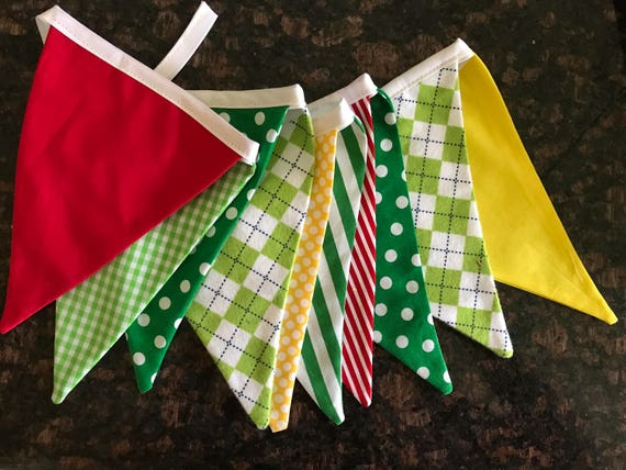 Golf Masters Theme Banner Bunting Golf Green Theme Birthday Party Banner Bunting Golf Party Decorations Cake Smash Photo Prop