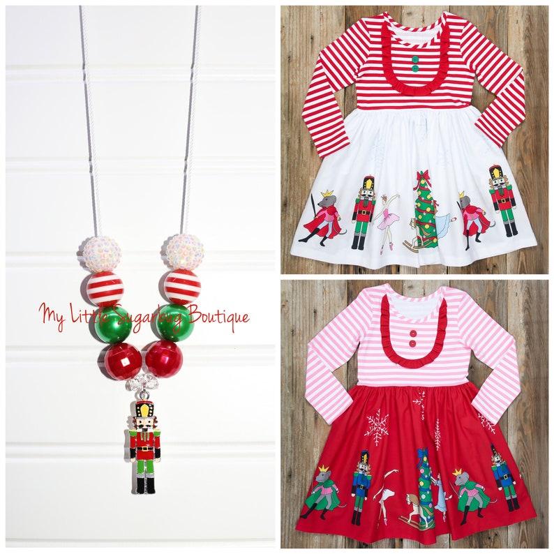 b9022e85cd38 Christmas Nutcracker Cord Necklace-M2M Eleanor Rose Christmas   Etsy