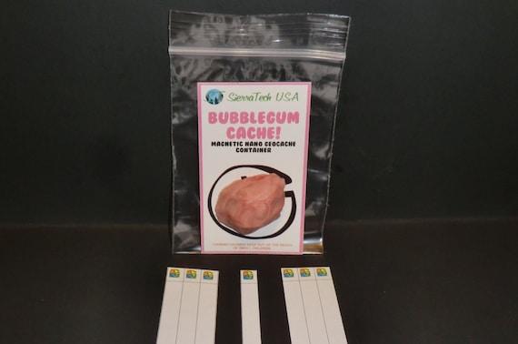 Bubblegum Géocache Conteneur-Chewing-gum cache-Geocaching Magnetic-Bulle