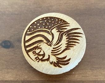 Set of 10 Americana Patriotic CERAMIC Drawer Pulls Dresser Drawer Cabinet Knobs