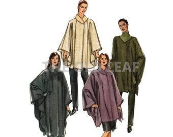 Sewing Pattern for Vogue Cape, Easy Vogue V7974, UNCUT