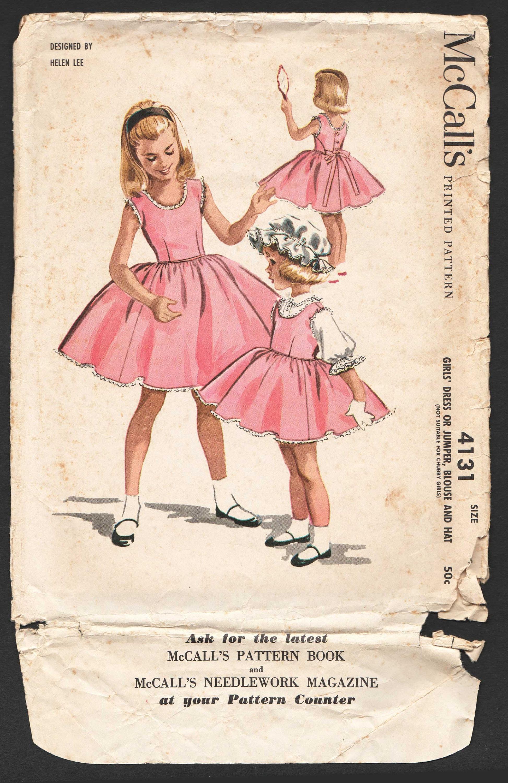 Niño chicas bailarina Vintage vestido patrón sin mangas vestido de ...