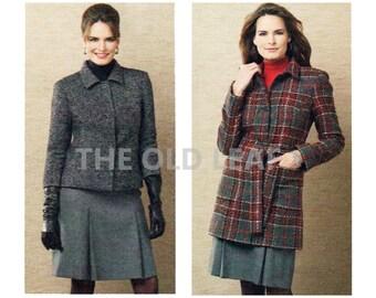 Sewing Pattern for Winter Coat & Jacket, Butterick B5535, UNCUT