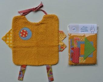 DIY - KPP sewing chick bib original Kit - kolapanpan