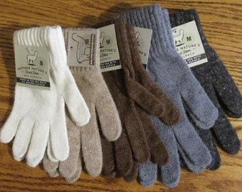 Warm Alpaca Gloves Sm, Md, Lg
