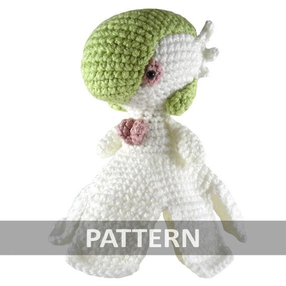 PATTERN Mega Gardevoir Pokemon Amigurumi Crochet Plush PDF | Etsy