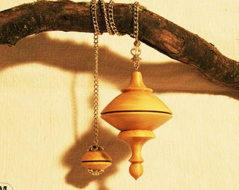Pendulum dowsing elder