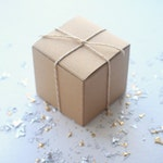 "3"" x 3"" x 3"" Kraft Gift Boxes - 10 Pack"
