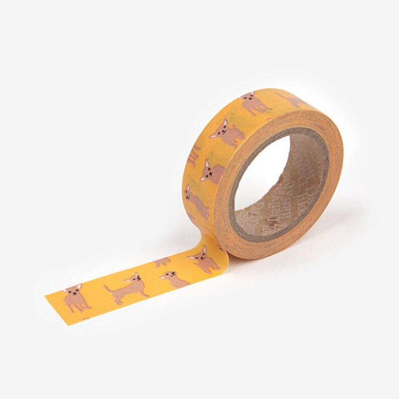 Washi Tape  Masking Tape  Chihuahua Dog  5/8 x image 0