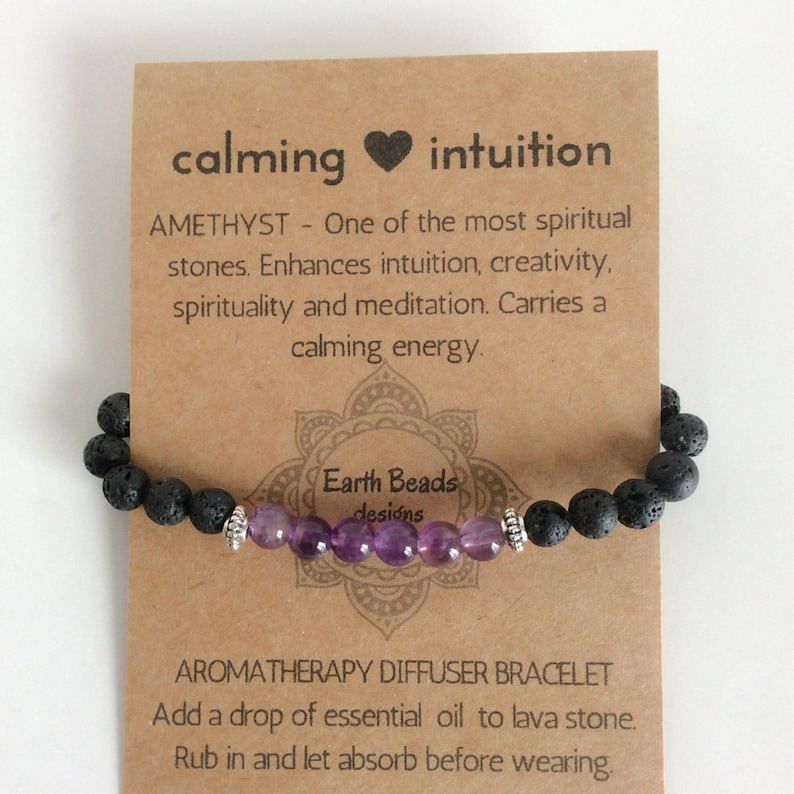 Birthday Gifts Under 20 To Keep On Hand Everymom Social Source Amethyst Lava Beaded Bracelet For Essential Oils Etsy