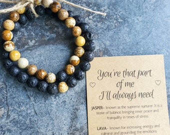 Engagement Gifts for Couple, Couple Bracelets, Wedding Gifts, Long Distance Relationship Gifts, Anniversary Gifts, Girlfriend and Boyfriend