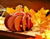 Fall Harvest Pumpkin Tea Lights. Individual kits, or String together for Outdoor Party Lights. Halloween, Thanksgiving, or just Fall Decor