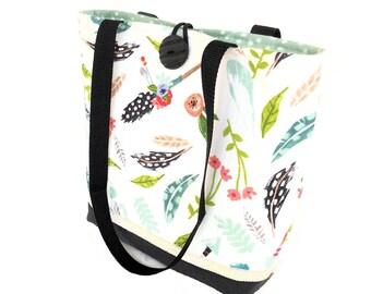 Quilted tote bag, Boho hippie purse tribal feather arrow handbag, Fabric handbags for fall, Cute purse, Cloth handbags, Best handbags