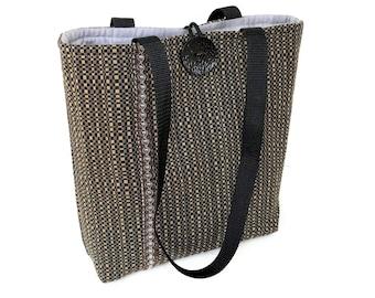 Ladies black handbags, Padded quilted tote bag, Cue Purse, Cloth handbags, Fashion bags, Fall bags and purses, Fabric handbags, Best handbag