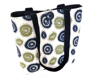 Cloth handbags, Cotton bag, Padded quilted tote bag, Fall bags purses, Gift for knitters, Ladies hand bags, Best handbags, Fabric handbags
