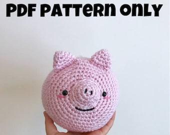 Pattern: Chubby Piggie (Digital PDF)