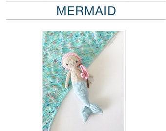 Pattern: Mermaid Amigurumi (Digital PDF File)