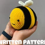 Pattern Chubby Bee (Digital PDF)