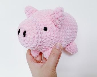 Pattern: Snuggly Piggie Amigurumi (Digital PDF File)