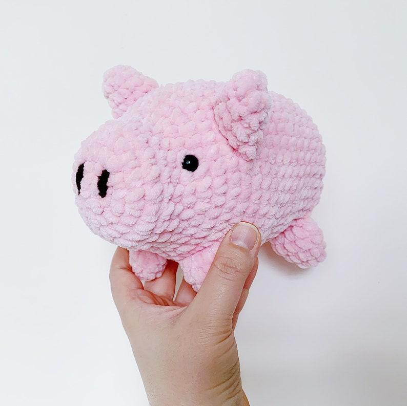 Pattern: Snuggly Piggie Amigurumi Digital PDF File image 0