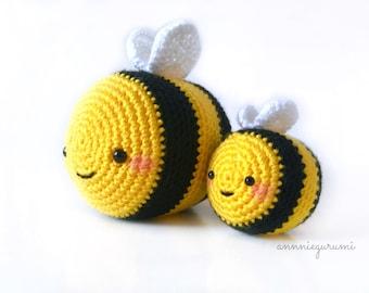 Pattern Bundle: Baby & Chubby Bee (Digital PDF)