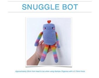 Crochet Pattern: Snuggle Bot AMIGURUMI (Digital PDF File)