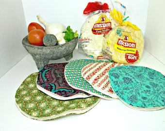 Microwave Tortilla Warmer PDF Pattern, Instant Download, Kitchen Accessory, Instructions