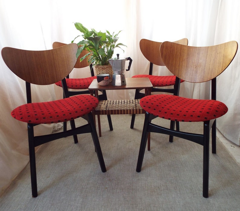 Gplan Butterfly Dining chairs in very good vintage condition image 0