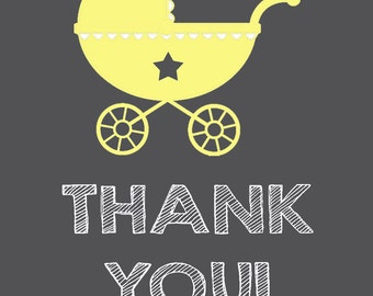 Carriage Thank You Cards 4x5