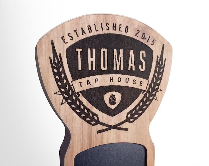Custom Beer Tap Handle - Saaz