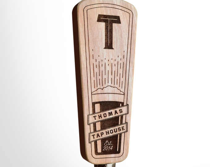 Custom Beer Tap Handle - Golding