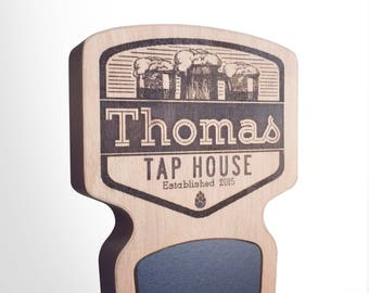 Engraved Custom Beer Tap Handle - Summit