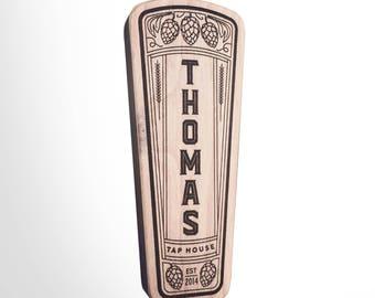 Engraved Custom Beer Tap Handle - Centennial