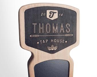 Engraved Custom Beer Tap Handle - Chinook