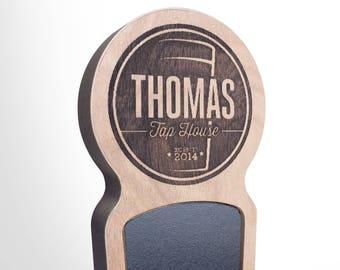 Engraved Custom Beer Tap Handle - Magnum
