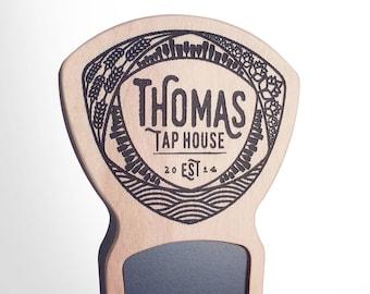 Engraved Custom Beer Tap Handle - Mosaic