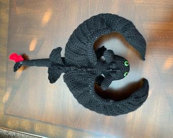 Amigurumi pattern for dragon, Toothless crochet pattern, Night ... | 270x340
