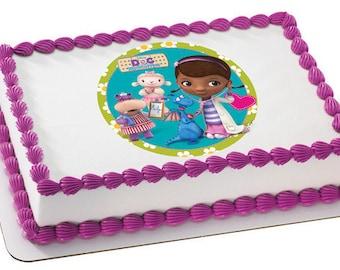 Phenomenal Doc Mcstuffins Cake Etsy Funny Birthday Cards Online Eattedamsfinfo