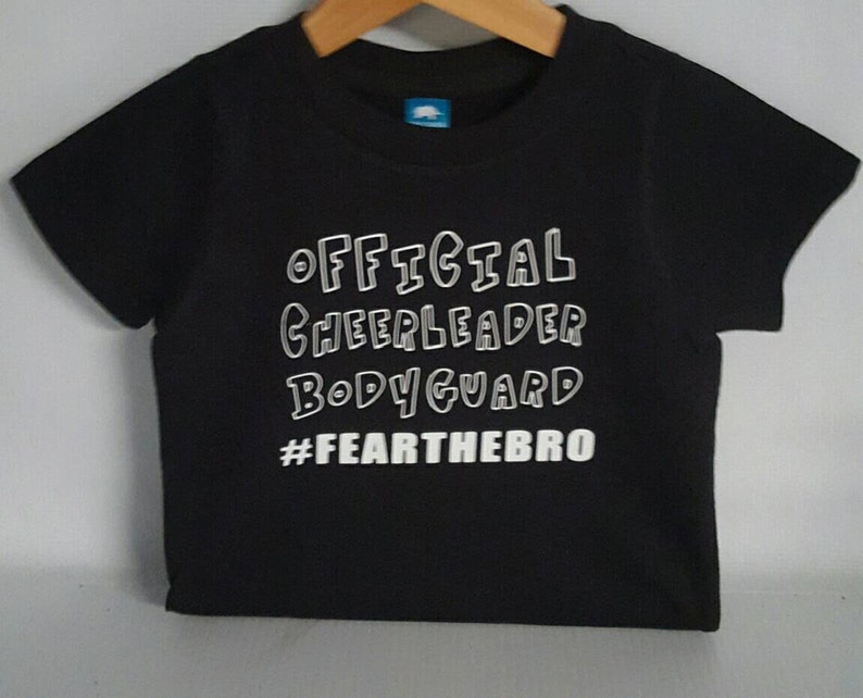 1005f79914 Cheerleadercheerofficial cheerleader bodyguard fear the   Etsy