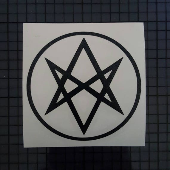 Supernatural Decal Men Of Letters Insignia Symbol Outline Etsy
