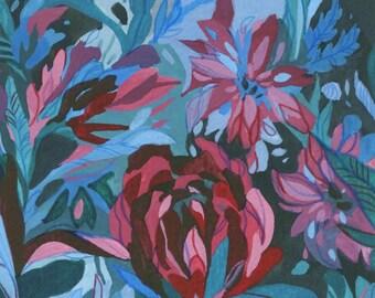 Flowers - Original Art - Tempera Painting