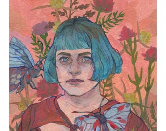 Carolyn - Original Art - Watercolor Painting