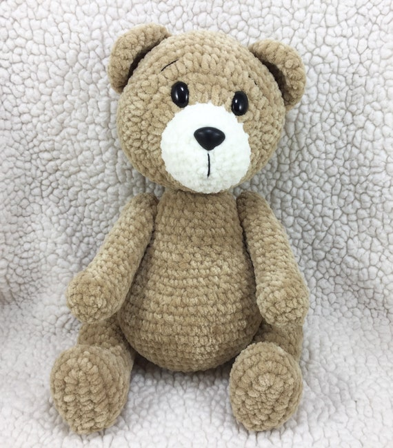 Crochet teddy bear pattern - Amigurumi Crochet | 649x570