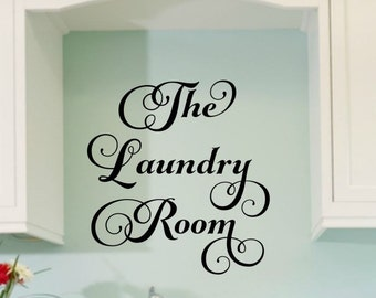 Laundry Room Decal Laundry Wall Decal Laundry Vinyl Decal Laundry Decal Laundry Room Vinyl Laundry Room Decor Laundry Vinyl Lettering
