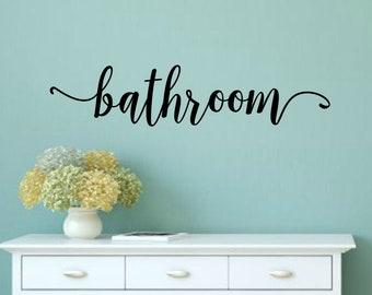 More Colors. Bathroom Door Decal Bathroom Decal Bathroom Vinyl Bathroom Wall  ...