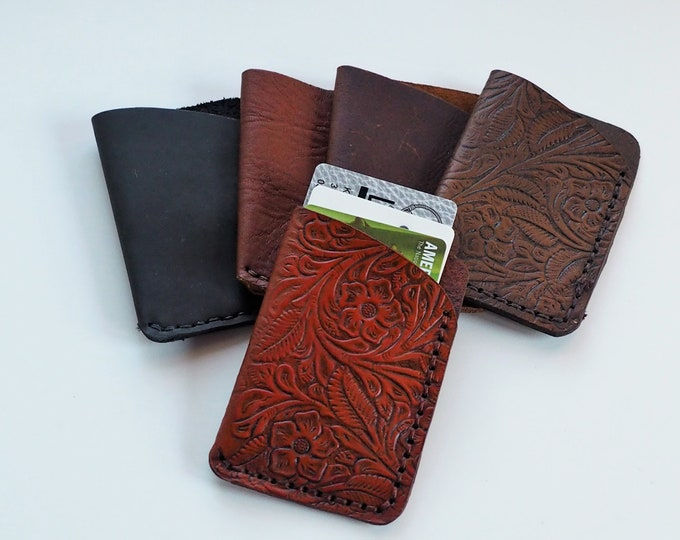 Leather Card Holder / Wallet