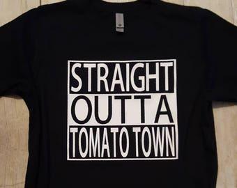 Fortnite Shirt Fortnite Tee Straight Outta Tomato Town